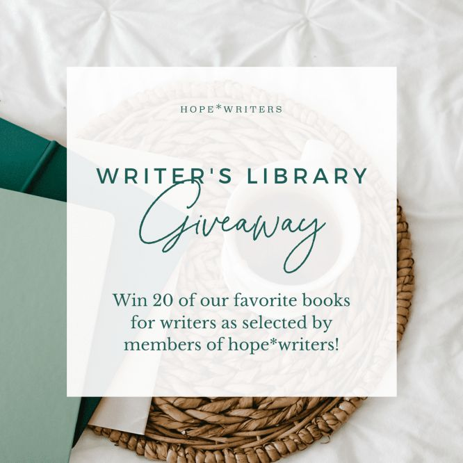 hope writers writer's library giveaway