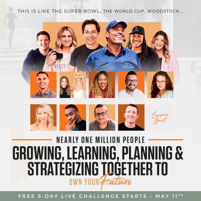 own your future challenge one million people