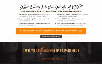 Own Your Future Challenge May 11-15 VIP Upgrade