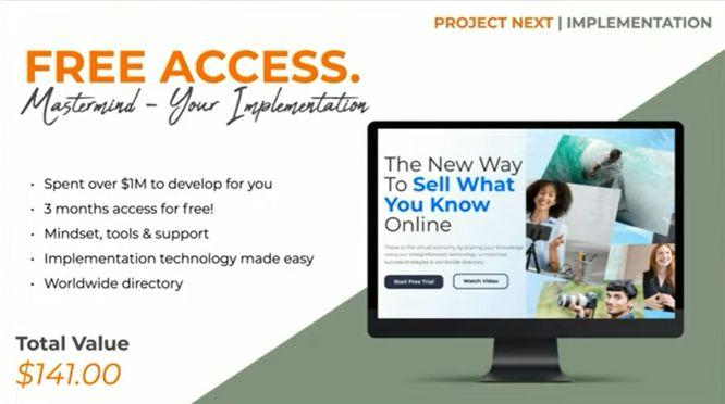 project next review mastermind platform