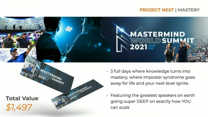 project next review mastermind world summit