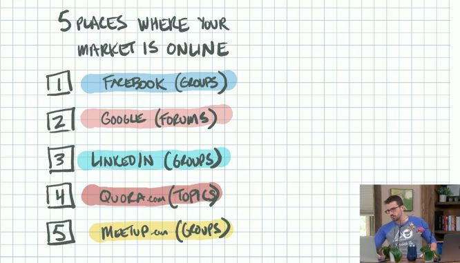 choose ask build challenge ryan levesque day 03 where to find ideal customers online