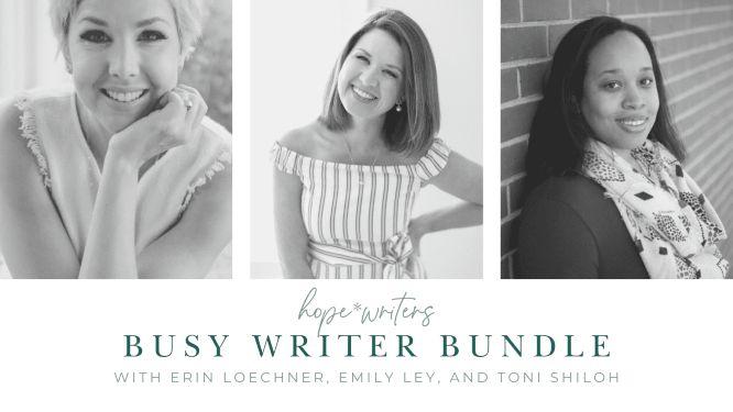 hope writers busy writer bundle