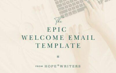 Hope Writers Free Download – Email Template & 50 Headlines Bonus