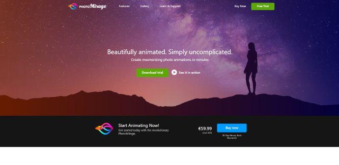 photo animation software photo mirage