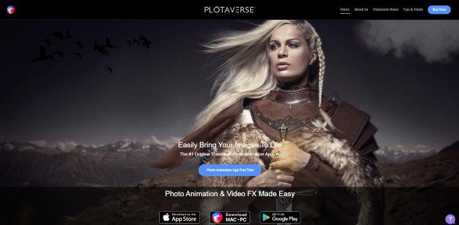 photo animation software plotaverse