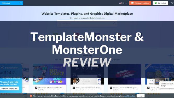 TemplateMonster Review & Video Walkthrough