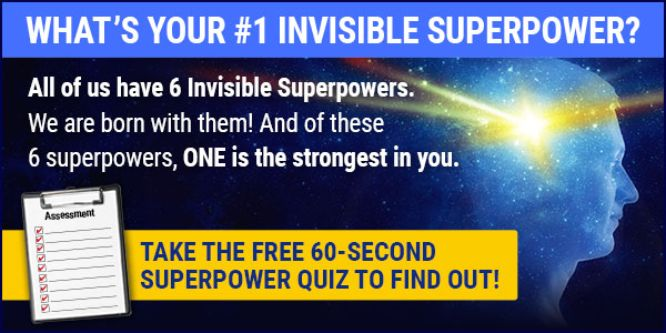 mary morrissey quiz - invisible superpower