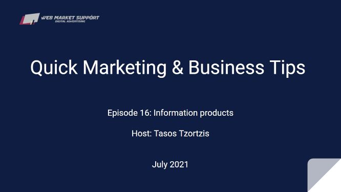 Quick Marketing & Business Tips – Episode 16