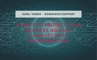 8 Ways To Secure Your Business Against Cybersecurity Vulnerabilities