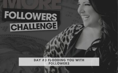 Kim Walsh Phillips 10X Your Followers Challenge Day #3 Flooding You With Followers