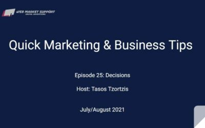 Quick Marketing & Business Tips – Episode 25