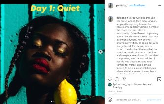 hope writers instagram writing challenge day 01 quiet paulisha_f