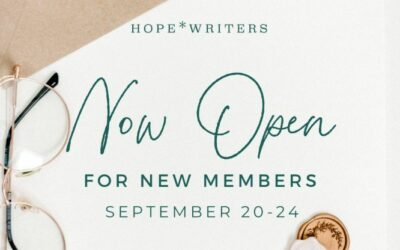 Hope Writers Now Open | Closing Sep 24