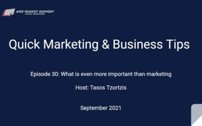 Quick Marketing & Business Tips – Episode 30