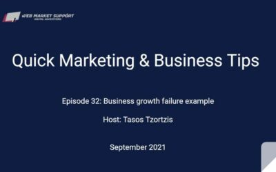 Quick Marketing & Business Tips – Episode 32