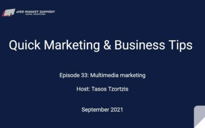 Quick Marketing & Business Tips – Episode 33