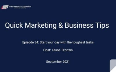 Quick Marketing & Business Tips – Episode 34