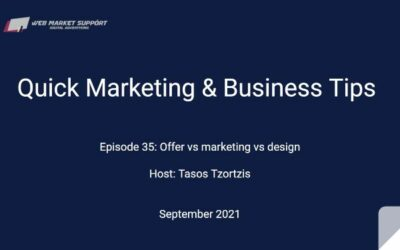 Quick Marketing & Business Tips – Episode 35