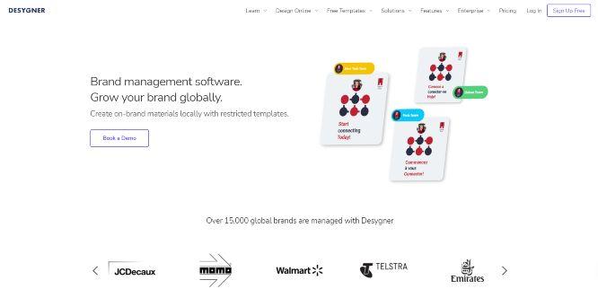 desygner review brand management