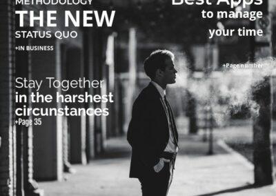 desygner review magazine sample