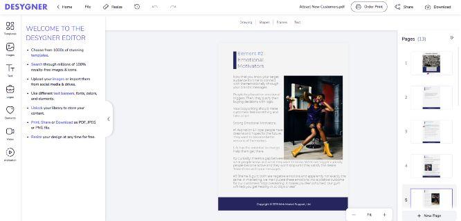 desygner review pdf editor