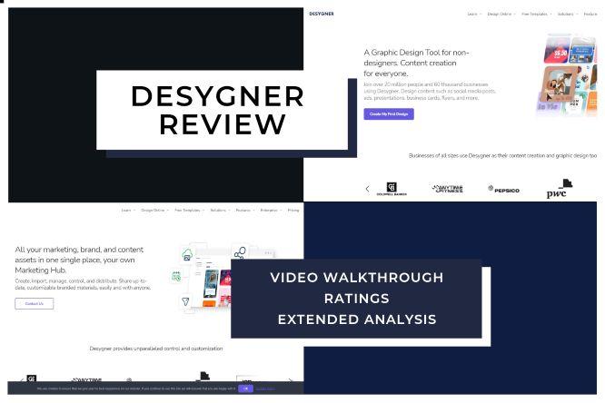 Desygner Review   Video Walkthrough, Extended Analysis