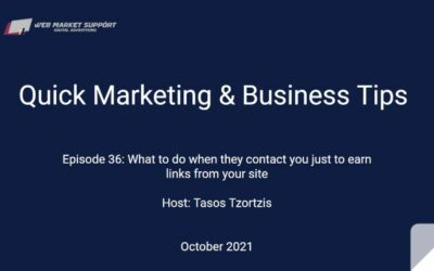 Quick Marketing & Business Tips – Episode 36