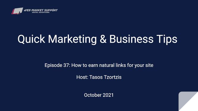 Quick Marketing & Business Tips – Episode 37