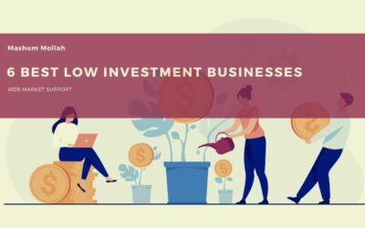 6 Best Low Investment Businesses